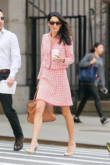 Amal Alamuddin,office look ,στυλ,outfits